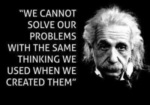 Einstein on thinking